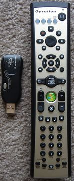 Gyration Remote and Receiver