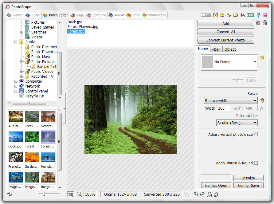 Editor de Fotos Portable Photoscape7
