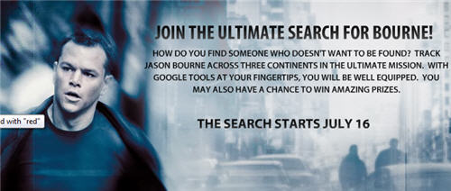 Search for bourne
