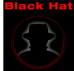 black hat computer hacker geek security exploit web hack