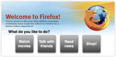 Firefox Frontpage