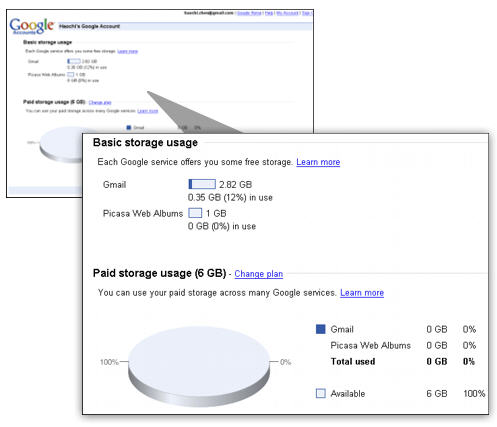 Google shared storage