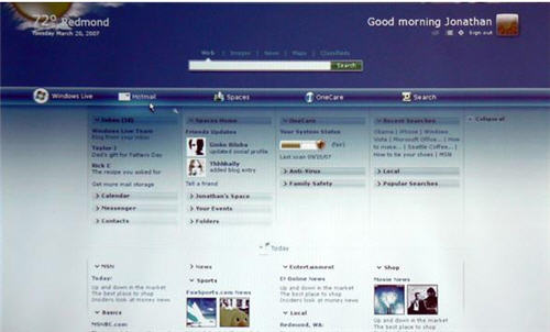 New windows live