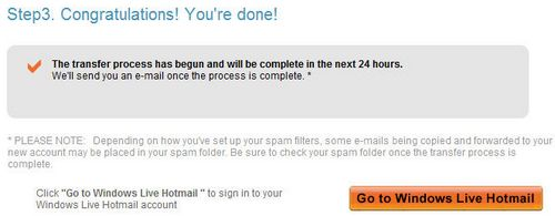 Switch to Hotmail Account - Step 3