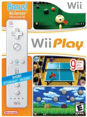 Wii Play & Wii Remote Bundle
