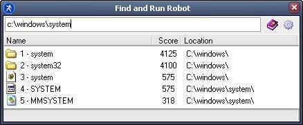 Find and Run Robot Application Launcher