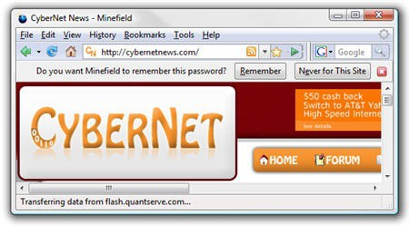Firefox 3 Password Saver