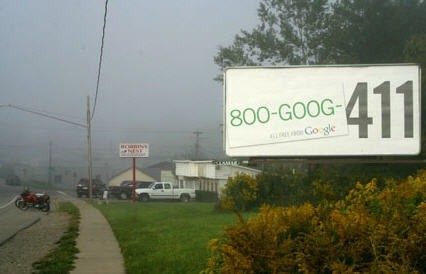 goog 411 billboard