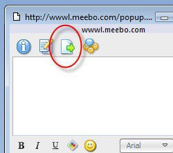 meebo file transfer