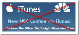 nbc apple itunes