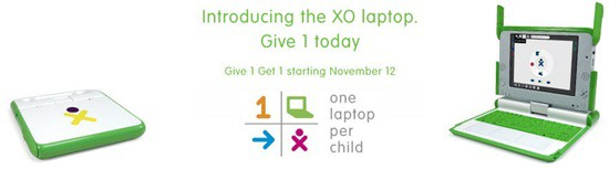 OLPC Christmas Buy One Give One
