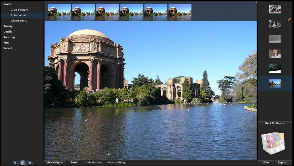 image of photoshop express