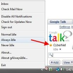 Change Your Google Talk Status to Away