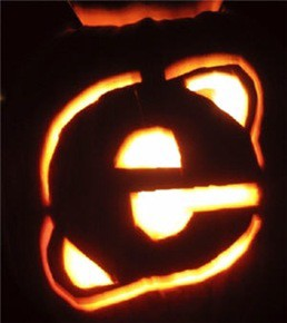 internet explorer pumpkin