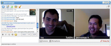 meebo chat and video