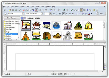 OxygenOffice Clipart