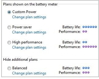 Vista Power Plan