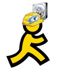 AIM Recuva RealPlayer Logos Icons