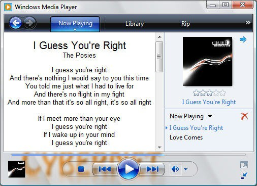 Lyrics Plugin