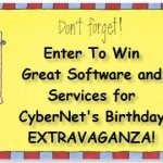 Less Than Two Hours to Enter CyberNet's Giveaways!