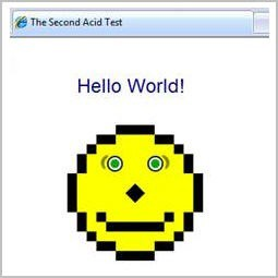 IE8 Acid 2 Test