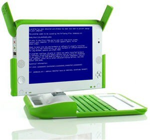 OLPC Windows XP BSoD