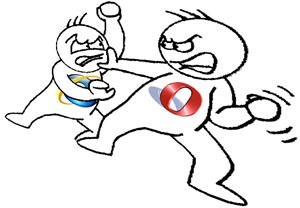 Opera IE Fight