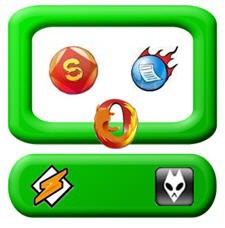 Shareaza Feeddemon Opera FIrefox Logos Icons