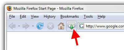 Firefox Download Icon