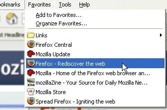 Firefox Favorites