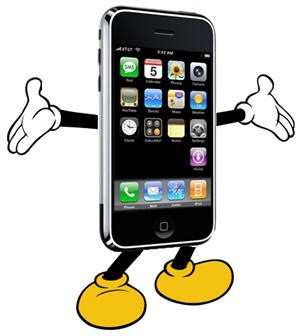 iPhone Mickey Mouse