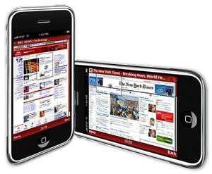 Opera Mini surpasses iPhone as the most popular mobile phone browser.