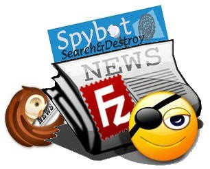 Spybot RSS Filezilla Logos Icons