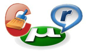 uTorrent CCleaner Realplayer Logos Icons