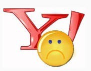 Yahoo-frown