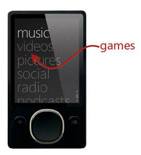 games on zune