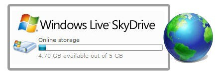 skydrive 5gb