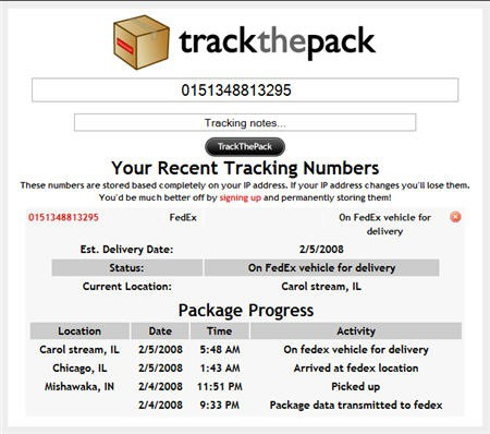 TrackThePack
