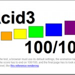 Browsers Start to Take Notice of Acid3 Test