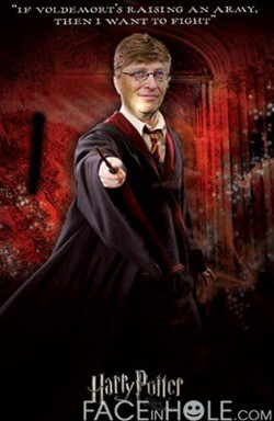 bill gates harry potter