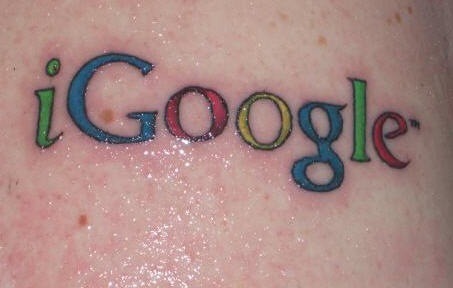 Google Tattoos