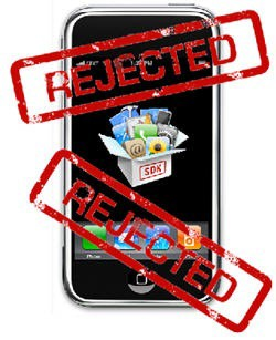 iphone rejected