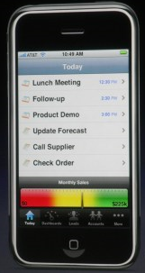 iphone salesforce