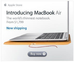 macbook air ad