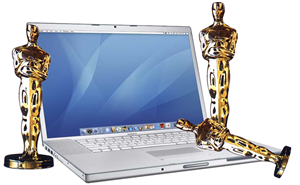 macbook trophies oscars