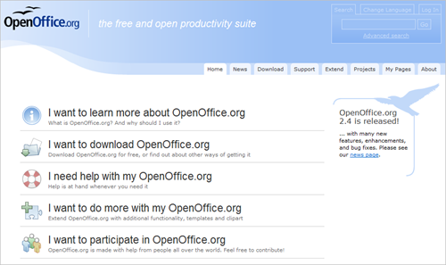 openoffice website