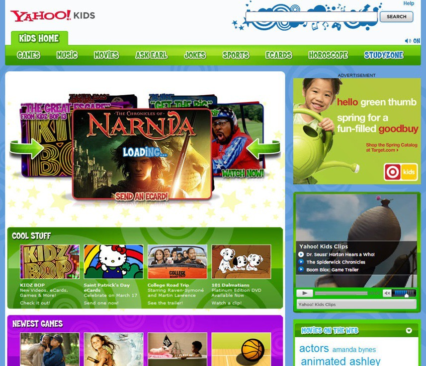 CyberNotes Three Fantastic Sites for Kids
