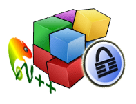 defraggler keepass notepad logos icons