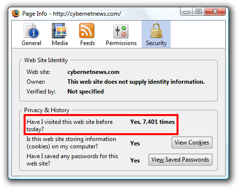firefox visited this site