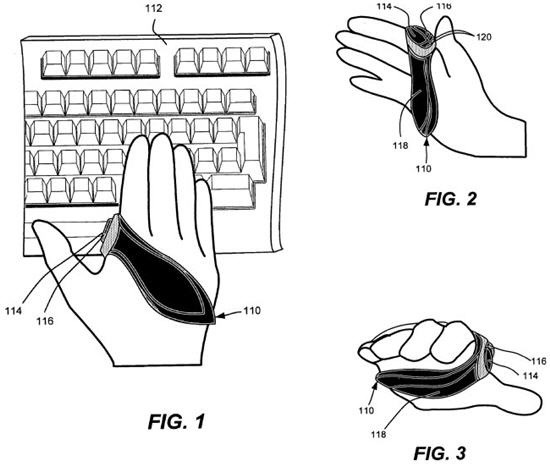 microsoft wearable mouse